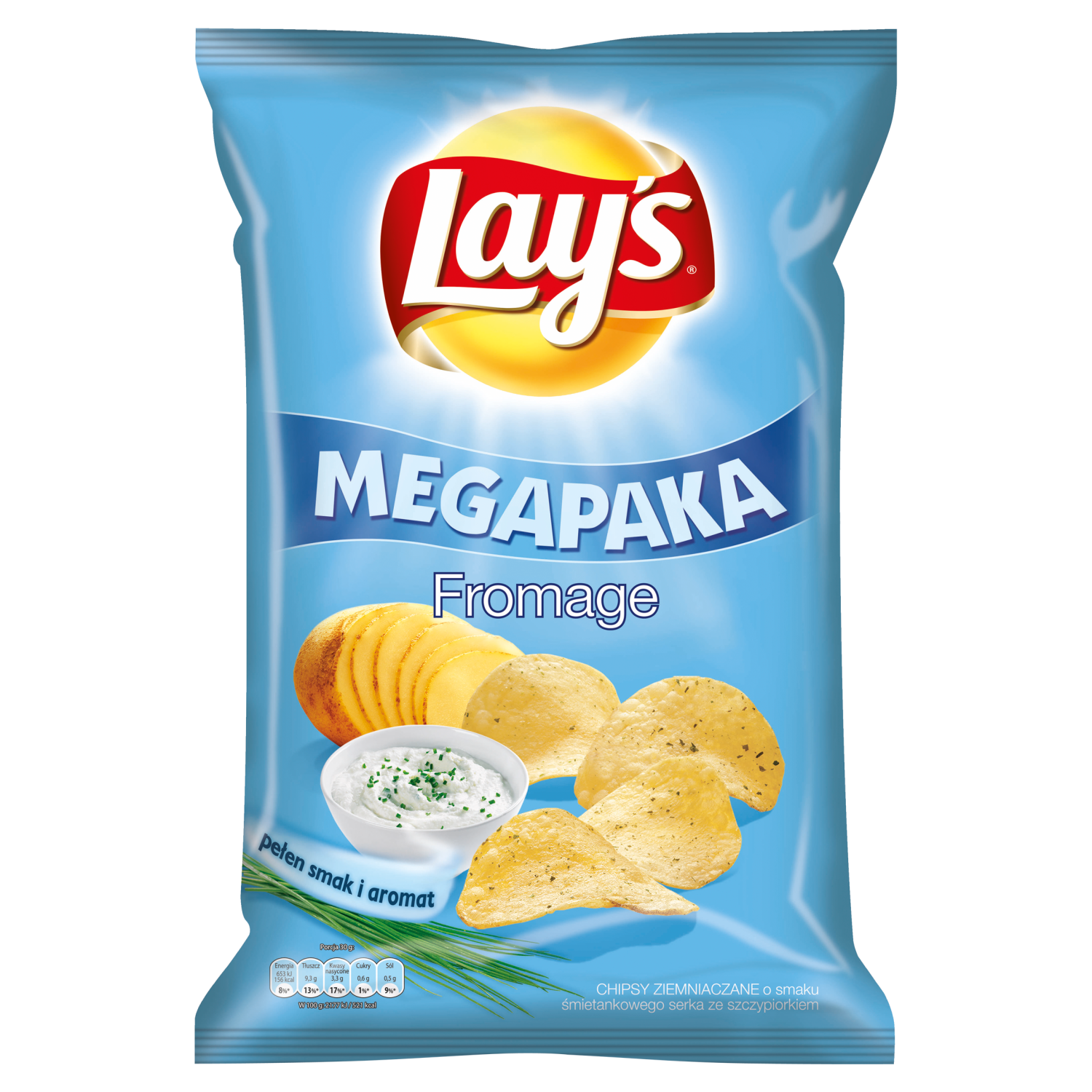 Lay's Fromage, Chipsy ziemniaczane
